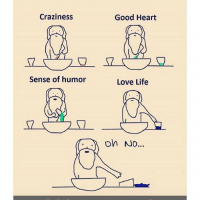 Life, Love, and Memes: Craziness  Sense of humor  Good Heart  Love Life  Oh No... 😫😫😂😂my life