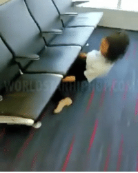 Memes, Terminator, and 🤖: Crazy: Shorty Limbo's under a chair in an Airport terminal!! ✈️😳👏 @TheLimboQueen WSHH