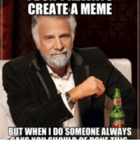 Create Meme: CREATE A MEME  BUT WHEN IDOSOMEONE ALWAYS