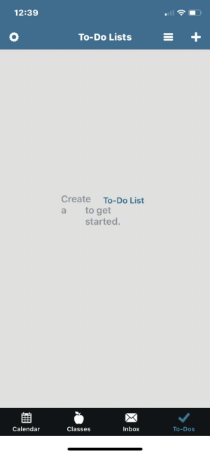 Create to-do list a to get started: Create to-do list a to get started