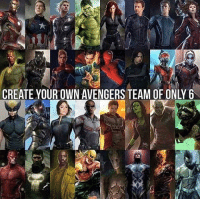 ~Deadpool: CREATE YOUR OWN AVENGERS TEAM OF ONLY6 ~Deadpool