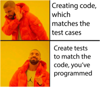 Best, Match, and Test: Creating code,  which  matches the  test cases  Create tests  to match the  code, you've  programmed The best way to make test-driven code