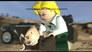 me irl: Creating memes with LEGO game screenshots  Succeeding in College me irl
