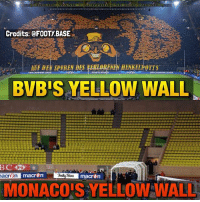 The difference 😂 Who will win in UCL, BVB or Monaco? 👇 Like this pic to become Follower of the day! ❤️ Follow me @footy.base for more! 🤘: Credits: @FOOTY BASE  ENEN HENKELHOTTS  UEFA CHAMPIONS LEAGUE  ULPA CHAMPIONS LtAGUE  BVB'S YELLOW WALL  acr En macrpn  Base  macr  MONACOIS YELLOW WALL The difference 😂 Who will win in UCL, BVB or Monaco? 👇 Like this pic to become Follower of the day! ❤️ Follow me @footy.base for more! 🤘
