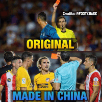 Griez copied his idol CR7 😂 Who do you prefer, Cristiano or Griez? 👇 Follow @FOOTY.BASE for more 🔥: Credits: @FOOTY BASE  ORIGINAL  Gt  MADE IN CHINA Griez copied his idol CR7 😂 Who do you prefer, Cristiano or Griez? 👇 Follow @FOOTY.BASE for more 🔥