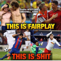 Agreed❓: Credits: @FOOTYBASE  aINSTATROLL FUTBOL  THIS IS FAIRPLAY  Emirates  TRWAY  THIS IS SHIT Agreed❓