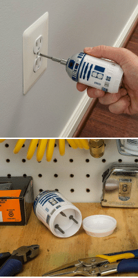 R2-D2, Star Wars, and Tumblr: CREW  NEGRO novelty-gift-ideas:  Star Wars R2-D2 Screwdriver