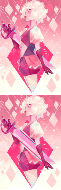 Target, Tumblr, and Blog: crimson-chains:  Pink Diamond! :DThe top one will be available as a print ^^