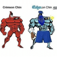 Anaconda, Lol, and Meme: Crimson Chin  on Chin 100 @hoodlives lol check this meme out bro