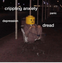 Anxiety, Depression, and Dread: crippling anxiety  panic  depression  dread  tl