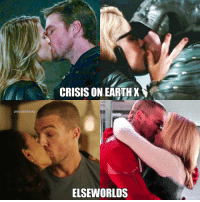 Memes, Earth, and Infinity: CRISIS ON EARTH  arrowmemes  ELSEWORLDS Oliver The Kisser But Olicity is endgame, obviously! I wondering who will Oliver kiss on Crisis on infinity earths? Maybe Killer Frost? Thoughts? ArrowEdits . ArrowMemes CrisisOnEarthX Elseworlds . crossoverevent Crossover oliverqueen greenarrow teamarrow karazorel karadanvers supergirl melissabenoist emilybettrickards emilybett felicitysmoak overwatch overgirl iriswestallen iriswest theflash barryallen olicity dccomics superheroeshow