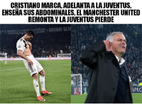 Manchester United, Juventus, and Karma: CRISTIANO MARCA, ADELANTA A LA JUVENTUS,  ENSENA SUS ABDOMINALES, EL MANCHESTER UNITED  REMONTA Y LAJUVENTUS PIERDE  SPEC ¡La ley del Karma! cabroworld