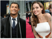 Cristiano Ronaldo and Angelina Jolie will act out for the first time together in a serial about Syrian refugees.  #LUTFI7: Cristiano Ronaldo and Angelina Jolie will act out for the first time together in a serial about Syrian refugees.  #LUTFI7