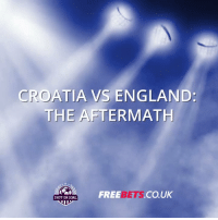 England, Memes, and World Cup: CROATIA VS ENGLAND:  THE AFTERMATH  FREE  BETS.CO  CO.UK  SHOT ON GOAL RT @shotongoal247: Here's the best reaction to #ENG's World Cup exit 👀 https://t.co/0kgzALmRRP