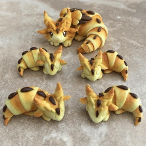 Dragons and Croissant: Croissant Dragons