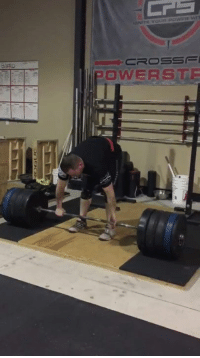 Memes, 🤖, and Rat: CROSSE  POWERS TE So, I don't know how many of you out there in Get Motivated and Laugh land are gym rats like myself, but here's a little Friday motivation. Me hitting a personal record at 405 lbs. Get out there and dominate this day! Happy Friday everyone!