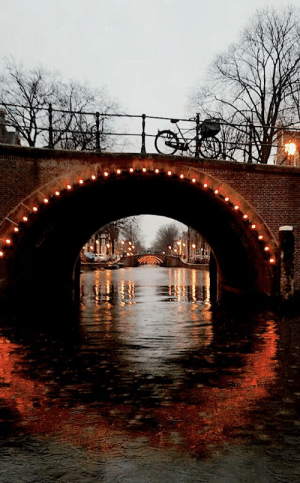 Amsterdam, Cruising, and The: Cruising the canals of Amsterdam