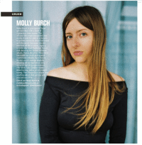 "Crush, Instagram, and Memes: CRUSH  MOLLY BURCH  Molly Burch is your typical Texan  girl-next-door with a twist of  mysterious vigen power The  27 year-old singer-songwriter was  so shy it took her almost a dedadg  to get the stones to share her talent  with the world, but once she did  she took off ike a rocket, signing  to indie star label Captured Tracks  and debuting her deeply romantic  album, Please Be Mine, Now she  back with her much anticipated  sophomore release First lower  Burch's music swings playfully  showing off her dexterous, so  voice on top of lounge-inspired  riffs-think Judy Garland meets  Billie Holiday with a jolt of modern  twang. First Flowor is a uniqua and  soothing album that will toy w  your senses  Check out Moly Burch at  mollyburchmusic.com or  on Instagram. amollyjburch Penthouse sits down W/ singer-songwriter ""Molly Burch"" to discuss her latest release ""First Flower"" in  our October ""Music"" issue. -  -  -  -  - #Penthousemagazine #Arts #Music #MollyBurch #Artist #October  #Singer #Songwriter https://t.co/h32TZKPn0l"