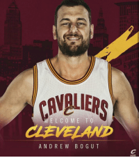 OFFICIAL: The Cleveland Cavaliers have signed Andrew Bogut for the remainder of the season. Bogut is expected to make his debut on Monday. via @cavs TAGS: AndrewBogut Cavaliers: CRVBUERS  ANDREW BOGUT  @CAVS  Cs  o OFFICIAL: The Cleveland Cavaliers have signed Andrew Bogut for the remainder of the season. Bogut is expected to make his debut on Monday. via @cavs TAGS: AndrewBogut Cavaliers