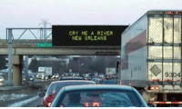 Billboard, Football, and Nfl: CRY ME A RIVER  NEW ORLEANS  9304 A billboard in Minnesota today 😂 https://t.co/IhQiaf4vs7
