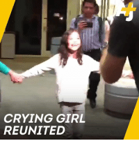 Crying, Memes, and News: CRYING GIRL  REUNITED Here's some good news about the 6-year-old Salvadoran girl whose crying went viral thanks to leaked detention audio.