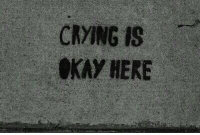 Crying, Kay, and Here: CRYING IS  KAY HERE  2