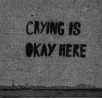 Crying, Kay, and Here: CRYING IS  KAY HERE