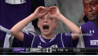 That kid tho... #Northwestern https://t.co/oEZHWseI4B: @CryingJordan  NOR  NORTHWESTERN 52 1ONZAGA 63 ND 7:36 18 O R DUND  2ND 7:36 18 2ND ROUND  8 NORTHWESTERN 52 1GONZAGA 63  NCAA WEST That kid tho... #Northwestern https://t.co/oEZHWseI4B