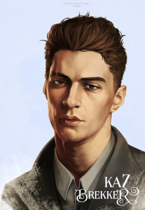 cryingmanlytears:  Six of Crows | Kaz BrekkerMatthias | Nina | InejI know I picked a somewhat predictable reference photo if you glance in the tag longer than ten seconds but honestly I've never seen anyone that looks just as I picture him but that might be because I don't even know how exactly I picture him. This dude comes the closest though so far. So here's my murderous son with his silly haircut looking very Done,: CRYINGMANLYTEARS  TUMBLR  KAZ  BREKKER  AHLYTE cryingmanlytears:  Six of Crows | Kaz BrekkerMatthias | Nina | InejI know I picked a somewhat predictable reference photo if you glance in the tag longer than ten seconds but honestly I've never seen anyone that looks just as I picture him but that might be because I don't even know how exactly I picture him. This dude comes the closest though so far. So here's my murderous son with his silly haircut looking very Done,
