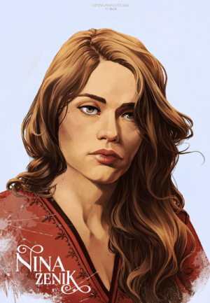 cryingmanlytears:  Nina Zenik | Six of CrowsMatthias | Inej | KazNext portrait is done! My girl Nina. I can't wait to see them all together. I edited Matthias to have his name too. Each portrait takes long enough that I might as well just keep throwing them up as I finish them. : CRYINGMANLYTEARS  TUMBLR  NINA  ŽENIK cryingmanlytears:  Nina Zenik | Six of CrowsMatthias | Inej | KazNext portrait is done! My girl Nina. I can't wait to see them all together. I edited Matthias to have his name too. Each portrait takes long enough that I might as well just keep throwing them up as I finish them.