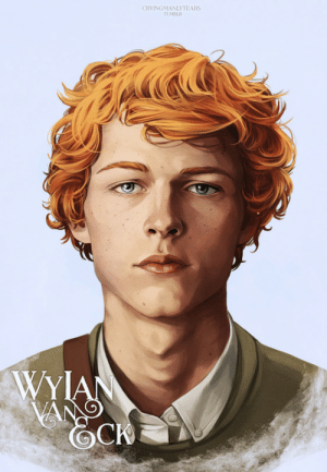 cryingmanlytears:  Wylan Van Eck | Six of CrowsMatthias | Nina | Inej | Kaz | JesperFinally we have our sixth crow, Wylan van Sunshine. All that's left to do now is throw them all together so they can judge you in unison. I love my murder kids.: CRYINGMANLYTEARS  TUMBLR  WYIAN  VANG cryingmanlytears:  Wylan Van Eck | Six of CrowsMatthias | Nina | Inej | Kaz | JesperFinally we have our sixth crow, Wylan van Sunshine. All that's left to do now is throw them all together so they can judge you in unison. I love my murder kids.