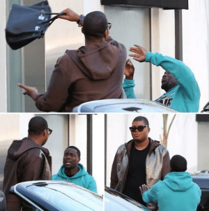 91cbc7bc7c3 EJ Johnson, Kevin Hart, and Tumblr: crymeweaves: EJ Johnson beating Kevin  Hart
