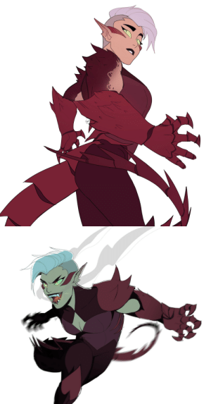 Tumblr, Thank You, and Blog: cryptid68:  well, it started as an au where scorpia has hands instead of crab claws, but then it turned into… what if scorpia was a dragon 🤷♀️😊  OP. YES.THANK YOU.
