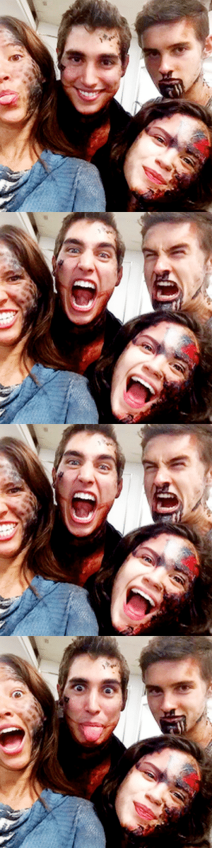 crystalreedie:  @zagahenry: A pack of chimeras back from the dead baby!! @kelseychow @victoriamoroles @themichaeljohnston #TEENWOLFSEASON5 #SEEYASOON : crystalreedie:  @zagahenry: A pack of chimeras back from the dead baby!! @kelseychow @victoriamoroles @themichaeljohnston #TEENWOLFSEASON5 #SEEYASOON
