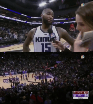 """IT'S RIDICULOUS!""   3 years ago today, Boogie Cousins' mic was cut off during a rant after his ridiculous performance vs the Blazers:   55 PTS 17-28 FG 16-17 FT 14 REB 5 3PT Ejected then un-ejected Game-winning block https://t.co/s6A7cIEnv5: CSN  INES  BD  KING  CSN  15  5   CSN  COCRRIME  POR 121  SAC 126  FINAL ""IT'S RIDICULOUS!""   3 years ago today, Boogie Cousins' mic was cut off during a rant after his ridiculous performance vs the Blazers:   55 PTS 17-28 FG 16-17 FT 14 REB 5 3PT Ejected then un-ejected Game-winning block https://t.co/s6A7cIEnv5"
