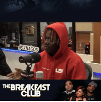 Memes, Wshh, and Live: @CTHAGOD  LB  REVOLT  THEBREAKFAST  LIVE OUR LilYachty speaks about people hating on him and receiving criticism this morning on TheBreakfastClub! 👀👍💯 @LilYachty @BreakfastClubAM WSHH