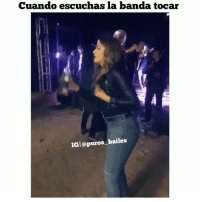 Dancing, Goals, and Memes: Cuando escuchas la banda tocar  IGl@puros bailes A que amiga te recuerda Al ver esto pues 😂😂😩🍻😩 Tag People ' fav dancing 💃 Follow @nortenas_vip PurosBailes Puros_Bailes puroparty tbh TagFriends dancingpartner goals relationshipgoals comment corridos banda norteñas zapatiado huapango cumbia rancheras vivamexico w wtfmexicans herraduradejoliet TagPurosBailes danza Manden Sus Videos Por DM📩 Turn On Post Notifications😌✔