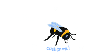 """Click, Spider, and Tumblr: Cuck on me marlenahd:  tinysidestrashcaptain:  b-b-e-e-s:  ( other versions:frog, moth, spider,worm  )  Click the bee for a nice message!   I'm a terrible person I thought this said """"cuck on me""""……….."""