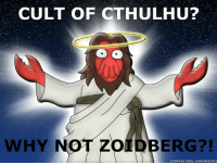 Beware of false religions.: CULT OF CTHULHU?  WHY  OLDBERG  made by Feely www.feely.de Beware of false religions.