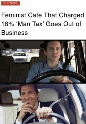 A dish best served cold by sirkarlcumsalot MORE MEMES: CULTURE  Feminist Cafe That Charged  18% 'Man Tax' Goes Out of  Business A dish best served cold by sirkarlcumsalot MORE MEMES