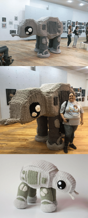 cumaeansibyl: 1thriftycrab:  knithacker:  She Crocheted A Supersized AT-AT Walker Amigurumi … Look, It's Taller Than You! 👉 https://wp.me/pjlln-aKC  WOW!! That is Wonderful.   @kelitchka : cumaeansibyl: 1thriftycrab:  knithacker:  She Crocheted A Supersized AT-AT Walker Amigurumi … Look, It's Taller Than You! 👉 https://wp.me/pjlln-aKC  WOW!! That is Wonderful.   @kelitchka