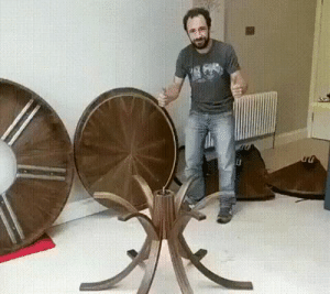 Arthur, Gif, and Tumblr: cupcakeshakesnake:  conservativeleague:  a-wandering-fool:  Because some days you want a small private gathering…and some days Arthur and his Knights drop by.   That last comment