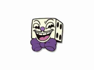 Amazoncom Funko Plush Cuphead - King Dice Collectible Figure
