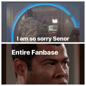 Sorry, Stay, and Away: CurC  Tam so sorry Senor  Entire Fanbase Stay away WSJ