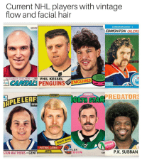 I would pay just to see this happen for just one season @bardown: Current NHL players with vintage  flow and facial hair  BaT DOW  CONNOR McDAVID C  EDMONTON OILERS  ALEXANDER OVECHKIN L.WII PHIL KESSEL  SIDNEY  CROSBY  CAPITALSPENGUINS  ENGUTN  center contin  BarDown  IRPLE LEAF  ORTH STARPREDATORS  IGHT WING  PATRIK LAINE  EFENSE  STON MATTHEWS CENT EIS  GUIN  CE P.K. SUBBAN I would pay just to see this happen for just one season @bardown