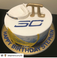 This is what happens when your birthday falls on 3-14, aka Pi Day (via @stephencurry30): CURRY  tu stephencurry30 This is what happens when your birthday falls on 3-14, aka Pi Day (via @stephencurry30)