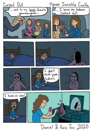 Cursed Doll [OC]: Cursed Doll [OC]