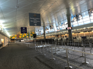 Customs at DFW today, it's like a ghost town here: Customs at DFW today, it's like a ghost town here