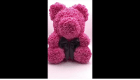 Beautiful, Cute, and Family: cute-aesthetics-things: Beautiful and Unique Rose Teddy Bear made with Artificial Rose that is meant to last forever! This Rose Teddy Bear will make a Meaningful and Lovely Gift for your Friends, Family or Special Someone to show them how much you appreciate them for being a part in your life! ***USE CODE: LOVE FOR A DISCOUNT*** = GET YOURS HERE =