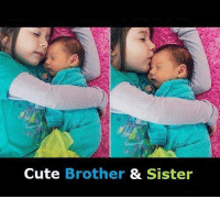 Cute, Love, and Memes: Cute Brother & Sister Brother and sister Love <3